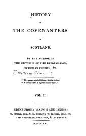 History of the Covenanters in Scotland: Volume 2