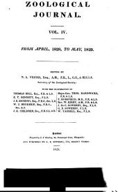 The Zoological Journal: Volume 4