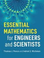 Essential Mathematics for Engineers and Scientists PDF