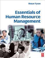 Essentials of Human Resource Management PDF