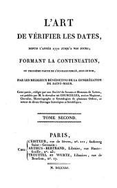 L'Art de vérifier les dates depuis l'année 1770 jusqu'à nos jours: M.DCCCXXIV