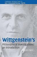 Wittgenstein s Philosophical Investigations PDF
