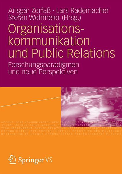 Organisationskommunikation und Public Relations PDF