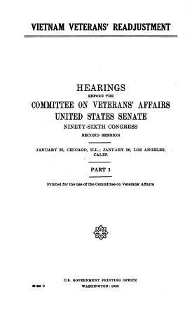 Vietnam Veterans  Readjustment PDF