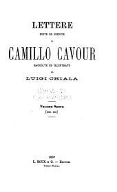 Lettere edite ed inedite di Camillo Cavour: Volume 6