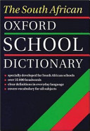 The South African Oxford School Dictionary
