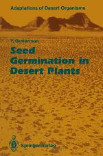 Seed Germination in Desert Plants