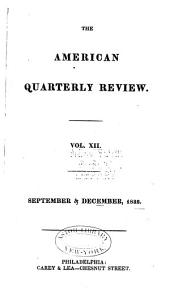 The American Quarterly Review: Issues 23-24