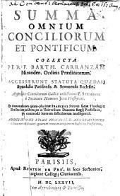 Summa omnium Conciliorum et Pontificum