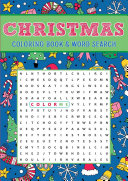Christmas Coloring Book   Word Search PDF