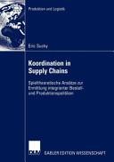 Koordination in Supply Chains PDF