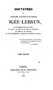 Souvenirs de Mme. Louise-Élisabeth Vigée-Le Brun: notes et portraits, 1755-1789, Volume2