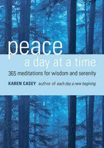 Peace a Day at a Time Book