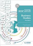 Cambridge IGCSE and O Level Business Studies PDF