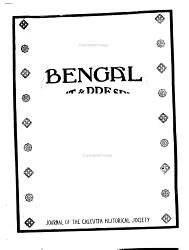 Bengal Book PDF