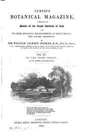 Curtis's Botanical Magazine: Volume 85