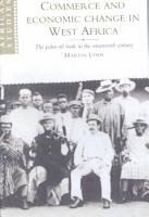 Commerce and Economic Change in West Africa PDF