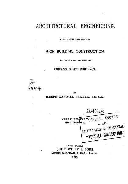 Architectural Engineering PDF