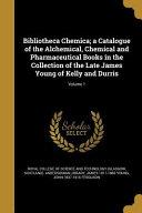 BIBLIOTHECA CHEMICA A CATALOGU PDF