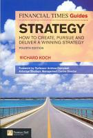 The Financial Times Guide to Strategy PDF