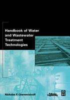 Handbook of Water and Wastewater Treatment Technologies PDF