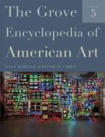 The Grove Encyclopedia of American Art PDF
