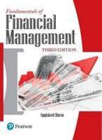 Fundamentals of Financial Management  3 e PDF