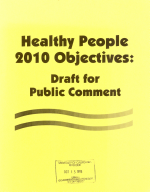 Healthy People 2010 Objectives PDF