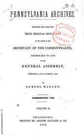 Pennsylvania Archives: Volume 10