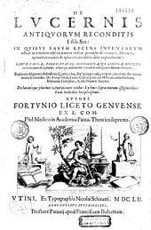 De Lucernis antiquorum reconditis lib. sex... autore Fortunio Liceto