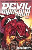 Devil Dinosaur by Jack Kirby PDF