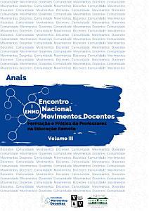 Anais do I Encontro Nacional Movimentos Docentes Volume III PDF