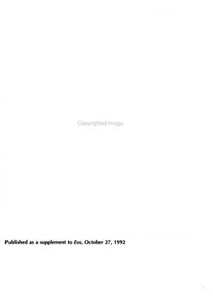 1992 Fall Meeting PDF
