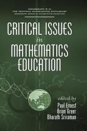 Critical Issues in Mathematics Education