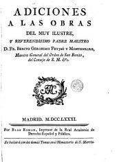 Adiciones a las obras del muy ilustre y reverendisimo padre maestro