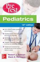 Pediatrics PreTest Self Assessment And Review  14th Edition PDF