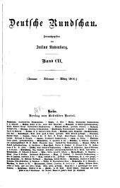 Deutsche Rundschau: Band 102