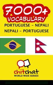 7000+ Portuguese - Nepali Nepali - Portuguese Vocabulary
