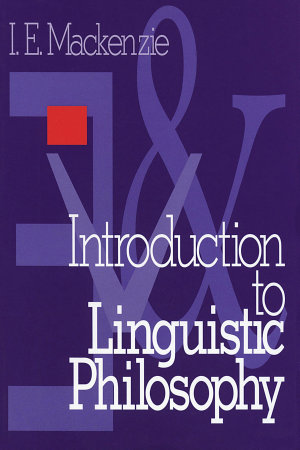 Introduction to Linguistic Philosophy