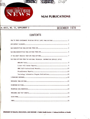 National Library of Medicine News PDF