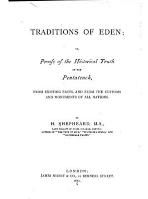Traditions of Eden PDF