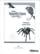 TIME For Kids Nonfiction Readers: Challenging Teacher's Guide