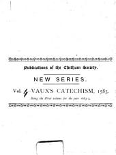 A Catechisme, Or, Christian Doctrine