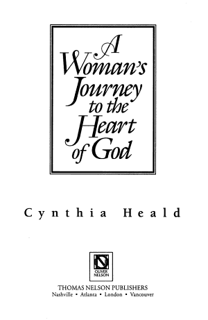 A Woman s Journey to the Heart of God PDF