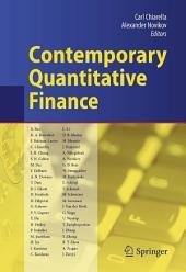 Contemporary Quantitative Finance: Essays in Honour of Eckhard Platen