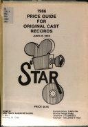 1984 Price Guide for Original Cast Records PDF