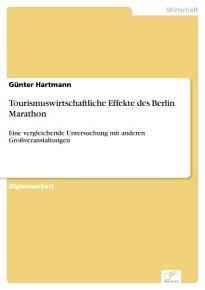 Tourismuswirtschaftliche Effekte des Berlin Marathon PDF