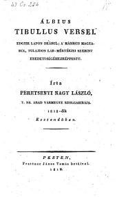 Versei. Edgyik lapon deakul a masikon magyarul irta Peretsenyi Nagy Laszlo. (Gedichte)
