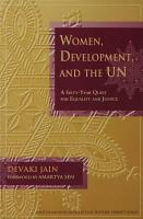 Women  Development  and the UN PDF