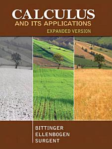 Calculus and Its Applications Expanded Version Book